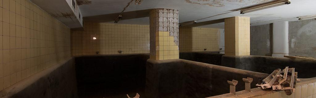 Teil der Schlegel-katakomben